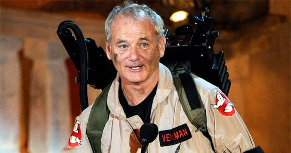 Will Bill Murray Sign On For Ghostbusters 3?