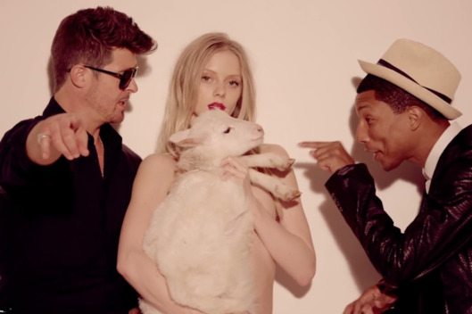 'Blurred Lines' Copyright Ruling