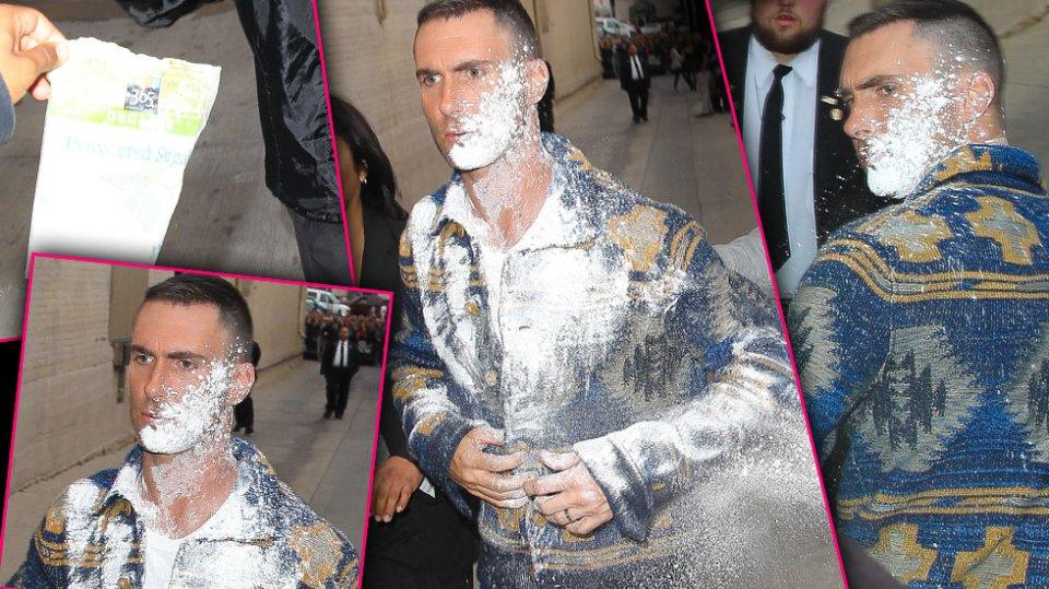 Adam Lavine Sugar Bombed in Hollywood